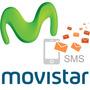 Recarga De Mensajes Tarjeta Movistar 700 Sms Escribe Full