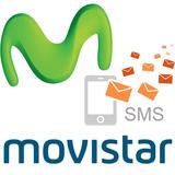 Recarga De Mensajes Tarjeta Movistar 250 Sms Escribe Full