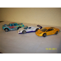 Hot Wheels Majorette Lote De 2 Coches Lamborghini Chevy ´57