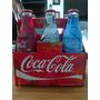 Six De Botellitas Coca-cola Beijin 2008 Con Líquido.