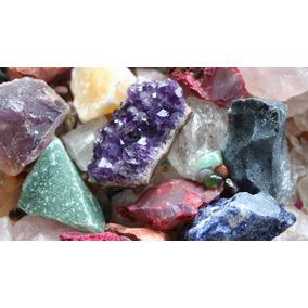 Kit Pedras Preciosas 1/2kilo - 20 Pedras Brutas, Naturais