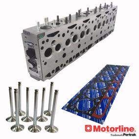 Tapa De Cilindro Para Motor Perkins 6pf305 + Valvula + Junta