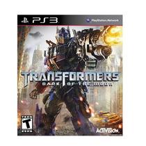 Jogo Transformers: Dark Of The Moon Ps3 Novo Frete Grátis