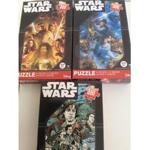 Lote 3 Star Wars Puzzle - Rompecabezas 300 Piezas Cada Uno