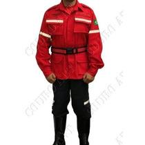 Uniforme Tático Bombeiro Civil - Bombeiros - Vermelho