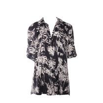 Sarkany Garden - Camisa Mujer Full Print Palmeras