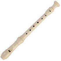 Flauta Doce Michael Wrsm21 Soprano Germânica + Capa Nylon