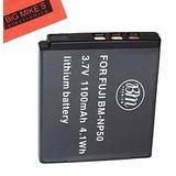 Reemplazo De Np-50 Batería Para Fujifilm Finepix Xf1, Xp100,