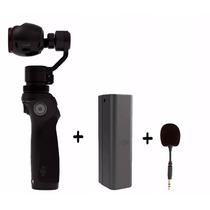Dji Osmo Camera 4k Uhd 2 Baterias E Microfone