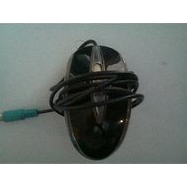 Mouse Optico Microstar Seminuevo Color Negro