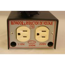 Convertidor Voltaje 110 220v 250w Elevador Reductor Voltaje