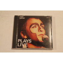 Peter Gabriel Plays Live Disco Numero 2 Edicion Usa