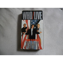 Vhs The Who Live Tommy Importado Made In Usa