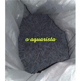 Carvão Ativado Peletizado 5kg Agranel Livre De Fosfato