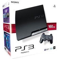 Ps3 Playstation 1000gb Desbloqueado + 60 Brindes Espetacular