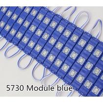 20 Modulos Inyeccion Led 5730 Azul Ultrabrillante Ledshopmx