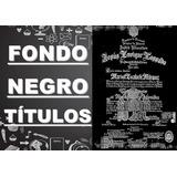Fondo Negro De Titulos, Entregas En Puerto Ordaz Y San Felix