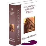 Diccionario Jurídico Espasa Con Cd-rom » Espasa Calpe