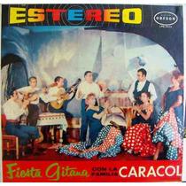 Flamenco, Fiesta Gitana, Manolo Caracol, Lp 12´,