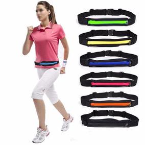 Bolso Invisivel Fitness Com Zipper Esportivo Várias Cores
