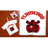 Kit Presente Camiseta Flamengo Dia Dos Pais