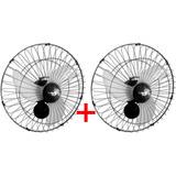 Ventilador Oscilante De Parede 60cm Tufão Loren Sid - 2 Unid