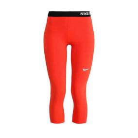 Capri Licra De Dama Nike Pro Para Hacer Ejercicio Original