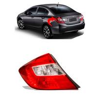 Lanterna Honda Civic Lado Esquerdo Ano 2012 2013 2014 2015