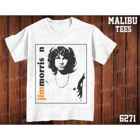 Camiseta The Doors Jim Morrison Classic Rock Heavy Metal