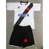 Conjunto Infantil Vasco Da Gama - Camisa + Short