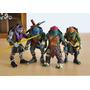 Tortugas Ninja Set 4 Figuras Articuladas Película 2017