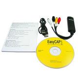 Tarjeta Capturadora Usb Easycap Rca Video Easy Cap