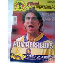 Revista Futbol Fibra América Antigua De Colección Vv4