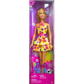 Barbie Vestida De Primavera
