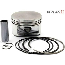 Pistao C/anel Uno/premio/elba/fiat 147 1.3 Alcool Metal Leve