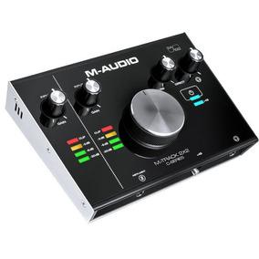 M-audio M-track 2x2 Nueva Interface Usb 24 Bits Max Calidad
