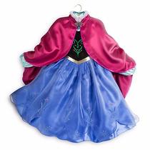 Disfraz Ana Frozen Disney Store Original De Eeuu 5/6 Años