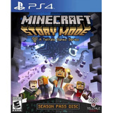 Minecraft Story Mode Ps4 Nuevo Original Fisico Caja Sellada