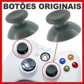 Botao Analogico Controle Xbox360 (unidade)- Original - Cinza