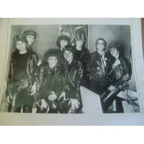 Los Chamos Foto Publicitaria 1984 Radiopolis