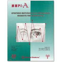 Butcher Mmpi-a Inventario Multifásico Adolescentes Portafo