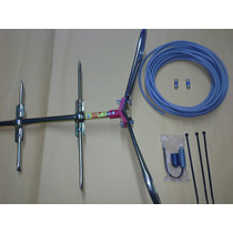 Antena Hd Aerea Catusa Tipo Moño Jh2-13 Envio Incluido