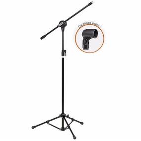 Pedestal Microfone Com Cachimbo Pmv100 - Vector