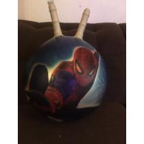 Pelota Brinca Brinca Para Saltar Spiderman Altura 43cm Diam