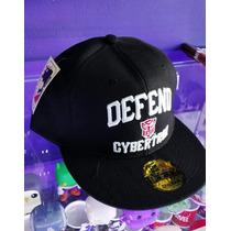 Gorra Transformers War For Cybertron Tipo New Era Plana