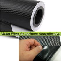 Fibra De Carbono Vehicular 1x1,52 Ploteos Autos Capot Techos
