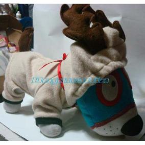 Disfraz Reno Con Cuernos Talla Siete Para Perros Navidad