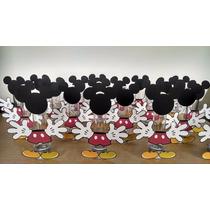 Tubos Golosineros Mickey Perzonalizados Souvenir Cumpleaños