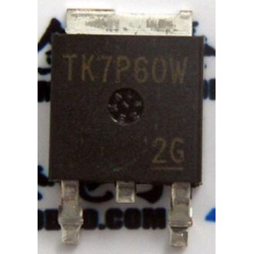 Transistor Mosfet Tk7p60w