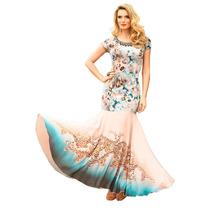 Oferta Vestido Vestido Siren Raglan Estilo Festas Sem Juros
